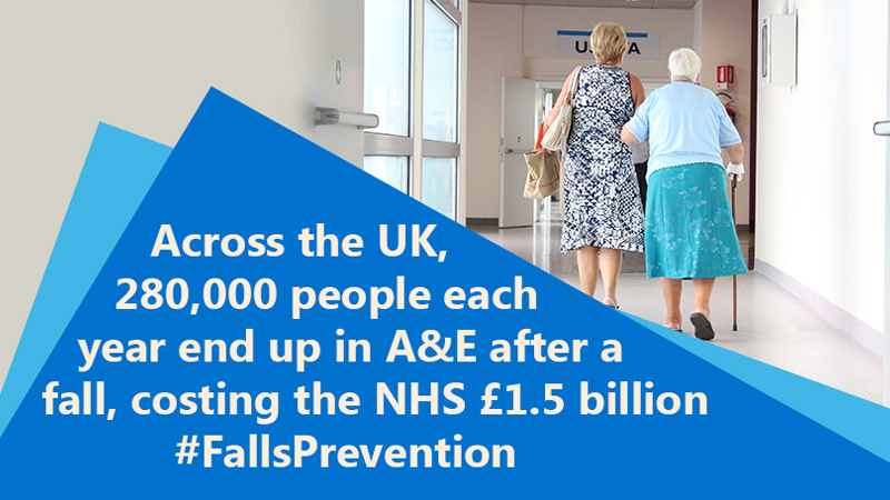 NHS Falls Prevention campaign